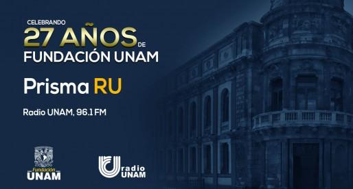 PODCAST   Fundación UNAM en Prisma RU